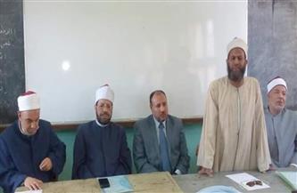 نائب رئيس جامعة الأزهر يشارك في اجتماع لجنة المصالحات بديروط |صور