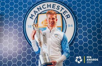«دي بروين» يفوز بجائزة أفضل لاعب في إنجلترا