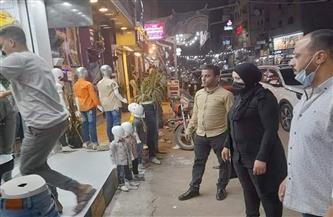 حي بولاق الدكرور يشن حملات لإزالة الإشغالات | صور