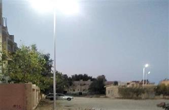 تدعيم عدد من مناطق مرسى علم بأعمدة إنارة  صور