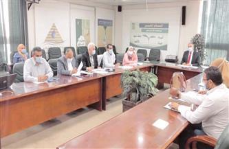 رئيس «المركزية لأملاك الري» يناقش تفعيل المنظومة الإلكترونية لإدارة الأصول  صور