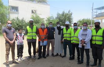 «مياه المنيا»: حملات لتوعية المواطنين بإجراءات سلامة ومأمونية المياه ببني مزار | صور