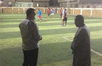 وكيل وزارة الرياضة بأسيوط يتفقد مركزي شباب بصرة والواسطي