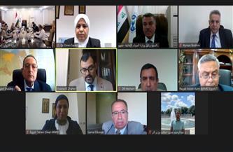 وزير الري يستعرض نتائج الاجتماع الأول للجنة التوجيهية الفنية المشتركة المصرية العراقية   صور