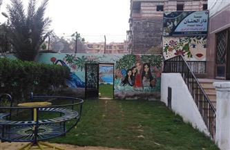 تطوير حديقة دار الحنان بمدينة كفر الشيخ.. والمحافظ يوجه بتوفير الرعاية للأيتام | صور