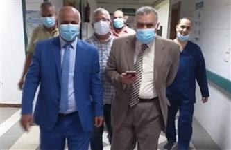 وكيل «صحة الغربية» يتفقد مستشفى كفر الزيات العام | صور