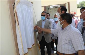 افتتاح مشروع صرف صحي كفر العامرة بمنوف | صور
