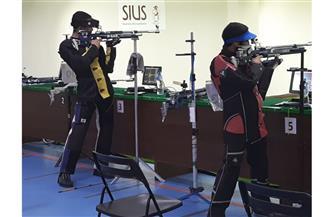 استعدادات مكثفة  للمنتخبات المشاركة فى البطولة العربية للرماية
