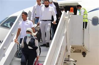 وصول أول طائرة  لشركة مصر للطيران إلى مطار برنيس الدولي | صور