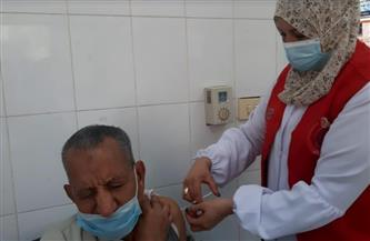 صحة الشرقية: استمرار تطعيم المواطنين بمكاتب البريد والكنائس والمصانع بلقاح كورونا | صور