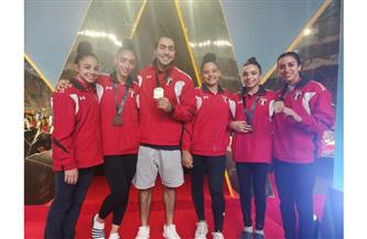 مصر تحتل وصافة كأس العالم للجمباز الفني