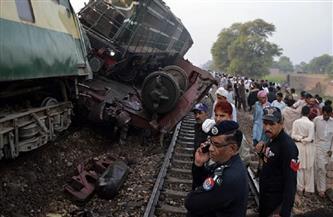 ارتفاع حصيلة حادث القطار في باكستان إلى 63 قتيلا