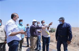 تفاصيل جولة وزير النقل بقطاعات مشروع القطار الكهربائي السريع «العين السخنة - مرسى مطروح» | صور