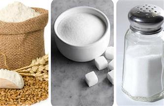 """أضرار السموم البيضاء """"الدقيق السكر الملح"""".. وهذه البدائل الصحية"""