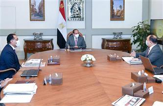 تفاصيل اجتماع الرئيس السيسي لمتابعة الموقف التنفيذي لمنظومة التحصيل الإلكتروني