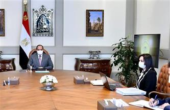 """الرئيس السيسي يطلع على جهود استضافة مصر للدورة الثامنة """"للمؤتمر الوزاري لمنظمة التعاون الإسلامي للمرأة"""""""