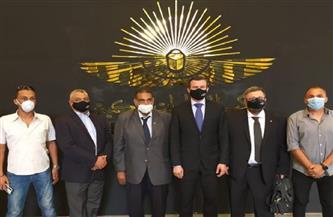 جولة لرئيس الوكالة الدولية للمنشطات بالمتحف القومي للحضارة المصرية