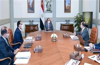 أبرز ما جاء فى اجتماع الرئيس للاطلاع على الموقف التنفيذي لعدد من مشروعات التطوير بوزارة المالية