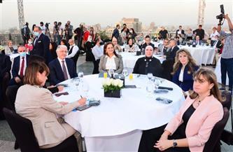 وزيرة الصناعة تشارك في فعاليات إطلاق مشروع المرأة في التجارة الدولية بمصر