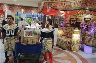 فنادق الغردقة تقدم عشاء على الطريقة الفرعونية للترويج للسياحة   فيديو وصور