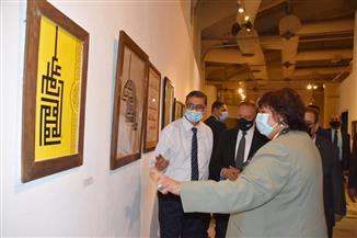 وزيرة الثقافة تسلم جوائز ملتقى الخط العربي السادس وتعلن مضاعفتها في الدورة المقبلة| صور
