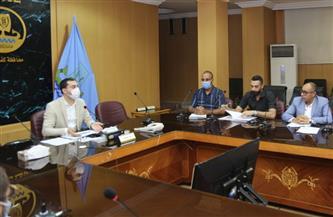 نائب محافظ كفر الشيخ يناقش التطورات الخاصة بالإدارة العامة للتحول الرقمي |صور