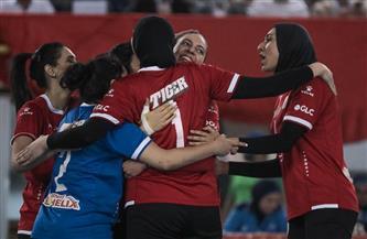 «سيدات طائرة الأهلي» يتوج ببطولة كأس مصر