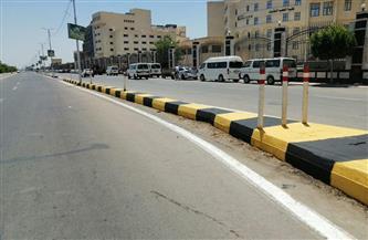 رفع كفاءة رافد الطريق الدولي الساحلي بكفرالشيخ وتطوير الشوارع | صور