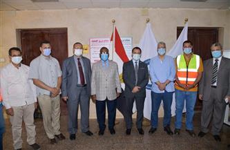 جامعة الوادي الجديد تبحث مع شركة فوسفات مصر بأبو طرطور إجراء أبحاث علمية  صور
