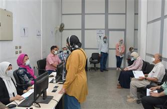 جامعة القاهرة تتوسع في حملتها لتطعيم جميع منتسبيها بلقاح كورونا |صور