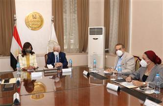 وزيرا التعليم والهجرة يبحثان إجراء امتحانات للطلبة المصريين غير القادرين على العودة للكويت