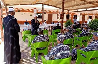 علماء الأزهر خلال لقائهم ضباط الشرطة بجنوب سيناء: الشباب عماد الوطن وسواعده |صور