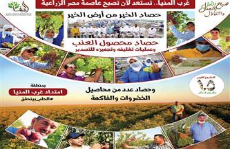 «شركة الريف المصري الجديد»: منطقة غرب المنيا قادرة أن تصبح عاصمة مصر الزراعية