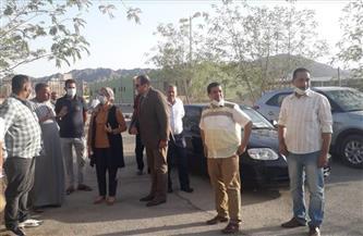 رئيس مدينة سفاجا تتابع جاهزية قرية الحجاج لاستقبال الأفواج السياحية   صور