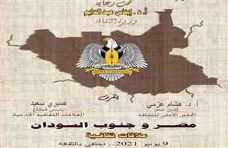 أمسية ثقافية للاحتفاء بالعلاقات بين مصر وجنوب السودان.. غدًا