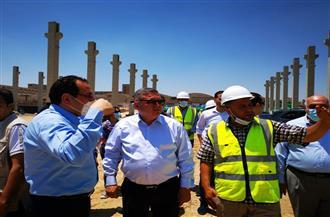 وزير قطاع الأعمال يتفقد إنشاءات مصنع «غزل 1» الأكبر عالميًا.. وتطوير مصنعي «4 و6» | صور