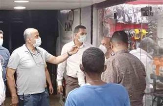 حملة لمتابعة تطبيق الإجراءات الاحترازية والوقائية ضد فيروس كورونا في حي السلام أول