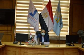 رئيس جامعة كفر الشيخ يترأس الاجتماع الشهري لمجلس العمداء | صور