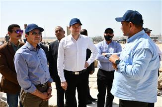 وزير الرياضة يصطحب رئيس الوكالة الدولية لمكافحة المنشطات في جولة بالأهرامات