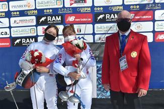 منتخب  كوريا الجنوبية يتصدر منافسات السلاح سيدات ببطولة العالم للخماسي الحديث