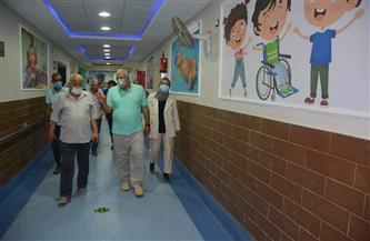 «الزملوط» يتابع سير العمل بمركز تأهيل ذوي الاحتياجات الخاصة | صور