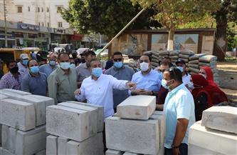 «ضمن الاحتفالات بالعيد القومي».. محافظ المنوفية يتفقد حديقة 30 يونيو وتطوير شوارع الغزل