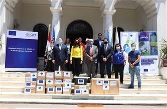 الجيزة تستقبل أجهزة طبية من المنظمة الدولية للهجرة لدعم ومساندة القطاع الصحي | صور