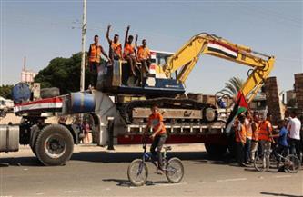 """""""الأشغال الفلسطينية"""": الانتهاء من إزالة أنقاض وزارة الشئون في فترة قياسية   فيديو"""