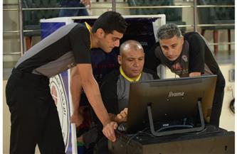 تقنية الفيديو تظهر لأول مرة في مباراة الزمالك والجزيرة لكرة السلة