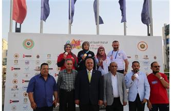 4 ميداليات لسيدات مصر في منافسات المسدس والبندقية  بالبطولة العربية للرماية