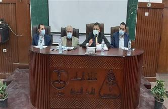 في جلسة علنية.. اختيار الأطباء المرشحين لعدد من وظائف جامعة المنوفية| صور