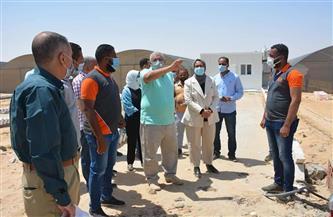 محافظ الوادي الجديد يتفقد مشروع مبادرة الحرير في «الخارجة» | صور