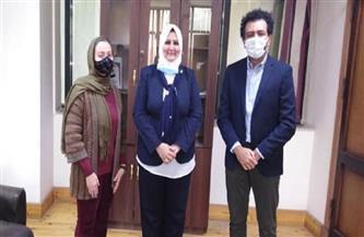 «تضامن الإسكندرية» تبحث مع «إنقاذ الطفولة» تنفيذ مشروع آليات «الرعاية البديلة»