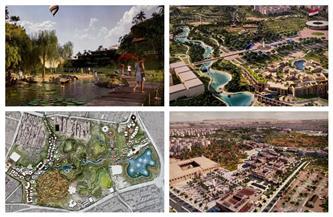 أكبر متنفس أخضر في القاهرة.. الرئيس السيسي يوجه بتطوير «حديقة تلال الفسطاط» | صور